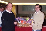 Easter Hamper Cat 1 winner Conor O'Brien