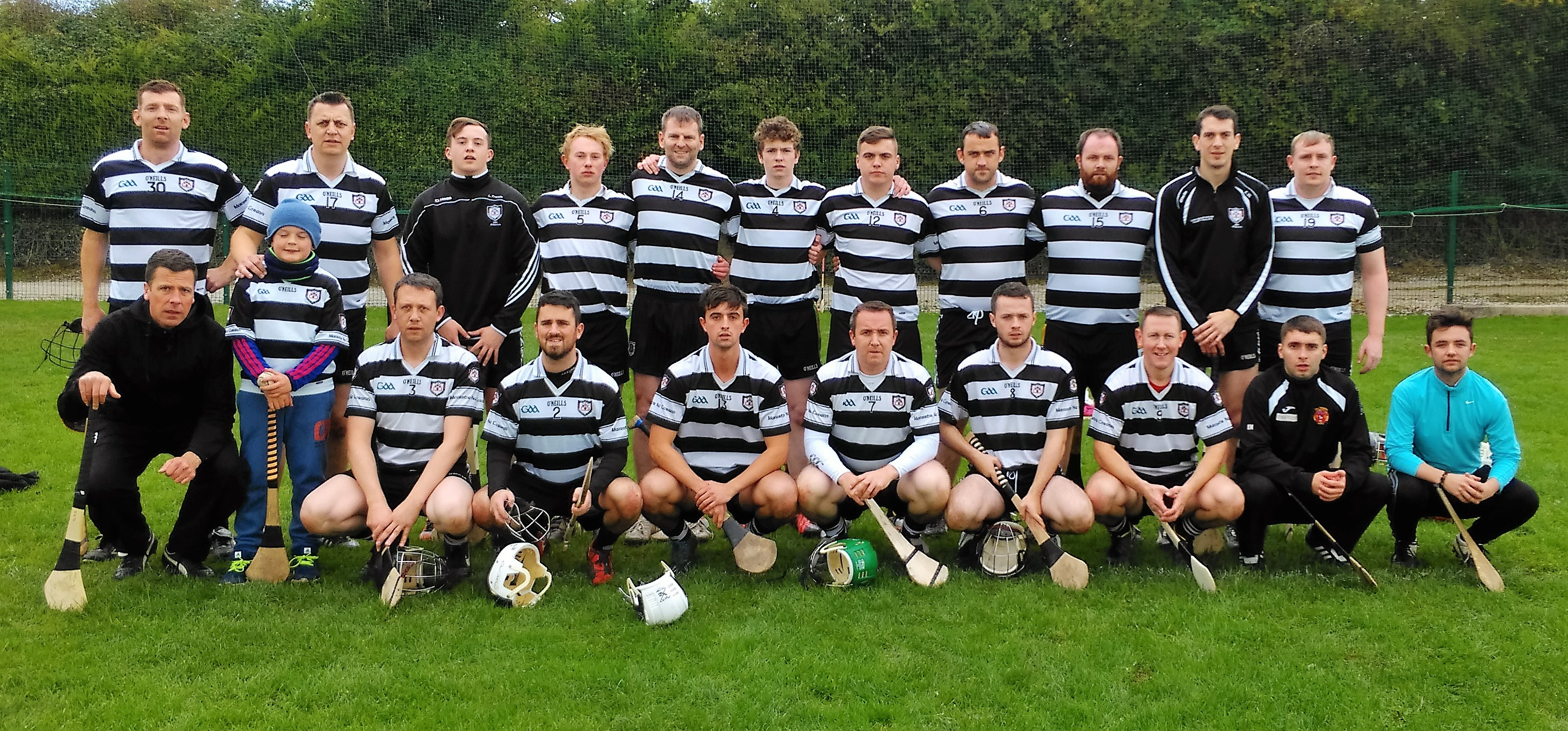 2ecb028ca773 Junior Football Our footballers took on Erins Own last Thursday evening in  the East Cork Division 1 League relegation play off in Caherlag and after a  tough ...