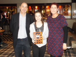 Deirdre Corcoran Player of the Yeay 2016