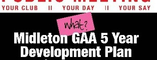 Midleton G.A.A. Club Development Plan: New Sub Committees