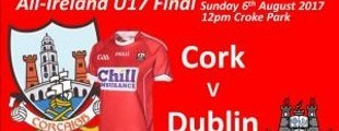 All-Ireland U17 Hurling Competition Final Cork v Dublin
