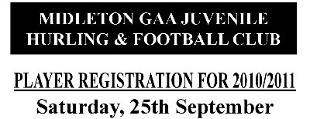 2010 Juvenile Player Registration